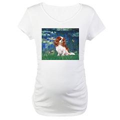 Lily Pond (#5) / Cavalier Maternity T-Shirt