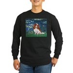 Lily Pond (#5) / Cavalier Long Sleeve Dark T-Shirt