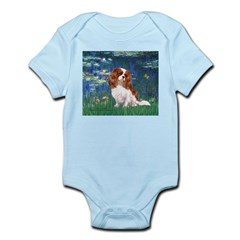 Lily Pond (#5) / Cavalier Infant Bodysuit