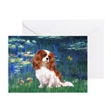Lily Pond (#5) / Cavalier Greeting Cards (Pk of 10