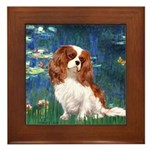 Lily Pond (#5) / Cavalier Framed Tile