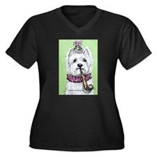 Birthday Westie Plus Size T-Shirt