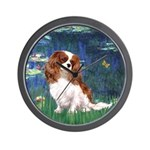Lily Pond (#5) / Cavalier Wall Clock