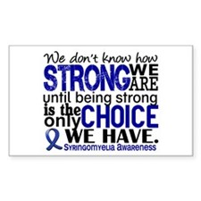 Syringomyelia how Strong We Ar Decal