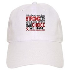 Stroke How Strong We Are Baseball Cap