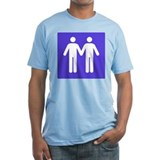 GAY BATHROOM SIGN Shirt