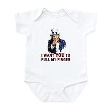 Pull My Finger - Bush Infant Bodysuit
