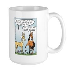 Horse Health - Shoe Toss Mug