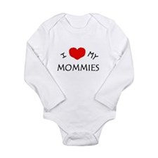 Cute Mommy's Long Sleeve Infant Bodysuit