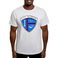 USS Midway CV-41 CVA-41 T-Shirt