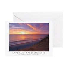Cape Cod Sunrise Greeting Cards (pck Of 20)