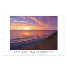 Cape Cod Sunrise Poster Postcards (package Of 8)