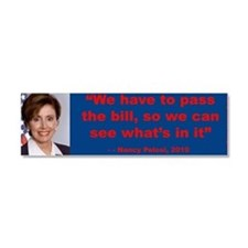 Cute Conservative party Car Magnet 10 x 3