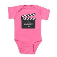 Cute Boy girl triplets Baby Bodysuit