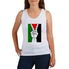 Unique Israel support Women's Tank Top