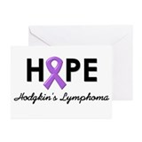 Hodgkin's Disease Greeting Cards (Pk of 10)