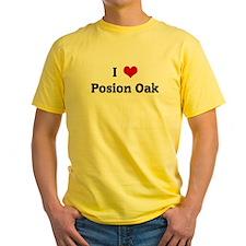 I Love Posion Oak T