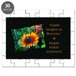 Earth Laughs in Flowers Puzzle