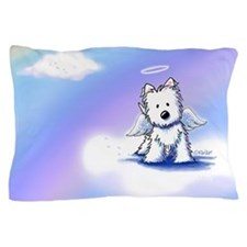 Rainbow Bridge Westie Pillow Case