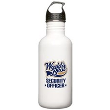 Security officer Sports Water Bottle