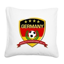 Germany World Champions 2014 Square Canvas Pillow