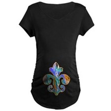 Fleur de lis Faux Paint 7 T-Shirt