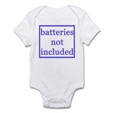 BATTERIES NOT INCLUDED Infant Bodysuit