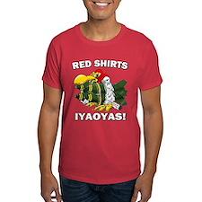 Personalized Red Shirts Iyaoyas! T-Shirt
