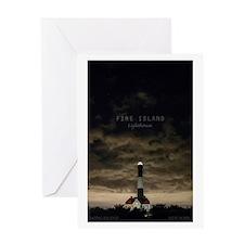 Fire Island Island. Greeting Card