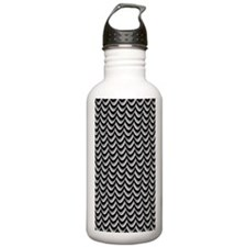 Thunderstorm Chevron Water Bottle