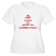 Keep calm and listen to COIMBRA FADO Plus Size T-S