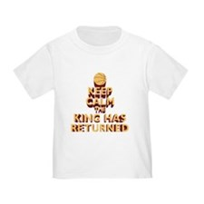 Keep Calm the King has Returned T-Shirt