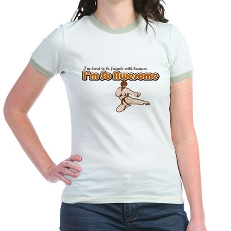 I'm So Awesome Jr. Ringer T-Shirt