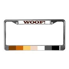 Bear pride License Plate Frame
