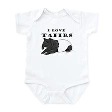 Smiling Tapir Infant Bodysuit