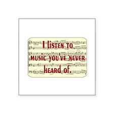 musicrstick Sticker