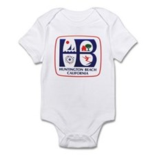 Huntington Beach California Infant Bodysuit