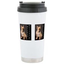 Cute French bulldog Travel Mug