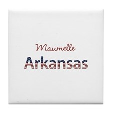 Custom Arkansas Tile Coaster