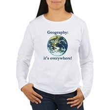 Cute Geography T-Shirt