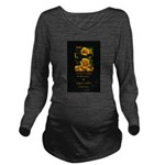 Earth Laughs in Flowers Long Sleeve Maternity T-Sh