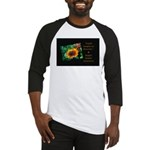 Earth Laughs in Flowers Baseball Jersey