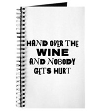 Wine Ransom Note Journal