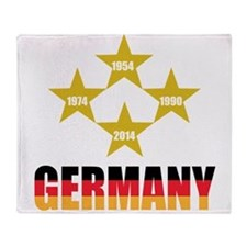 Germany Soccer Throw Blanket