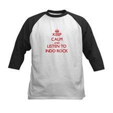 Keep calm and listen to INDO ROCK Baseball Jersey