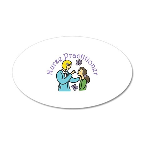 Nurse Practitioner Wall Decal