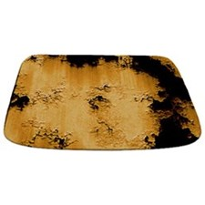 Grungy Rusted Pitted Metal with Yellow Paint mAT B