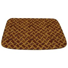 Brown Rusted Industrial Grate BATH MAT Bathmat
