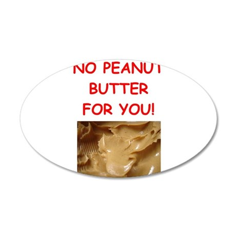 peanut butter Wall Decal