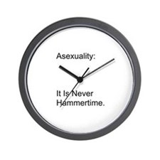 Asexual Wall Clock